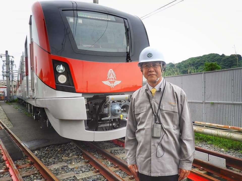 ถึงไทยต.ค.นี้ ! รถไฟสีแดง 2 ขบวนแรก เร่งเปิดปลายปี63