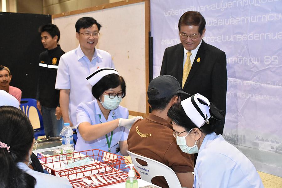 สธ.จัดงานเฉลิมพระเกียรติ 26 ก.ค.นี้ ตรวจสุขภาพ ฉีดวัคซีน รักษาข้อเข่า นวดประคบฟรี
