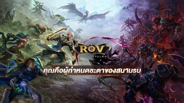 ตลาดเกมสมาร์ตโฟน RoV แชมป์ครึ่งปีแรก FGO อันดับสอง