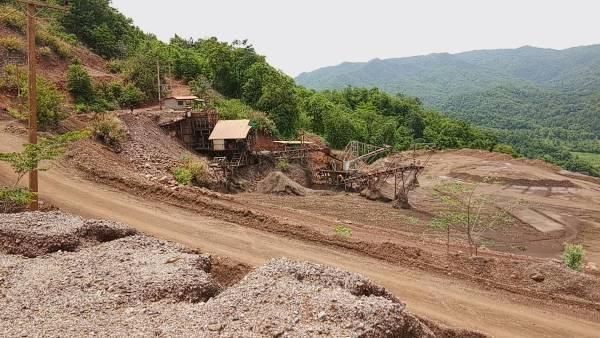 DSI-ป่าไม้-ทหาร บุกยึดเหมืองแร่เมืองแพร่ พบเช่าช่วง-รุกป่าถลุงแร่แบร์ไรท์