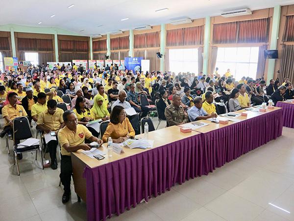 อบจ.สงขลา เปิดประชุมรับฟังความคิดเห็น ปชช.โครงการวางและจัดทำผังเมืองรวมชุมชนจะนะ