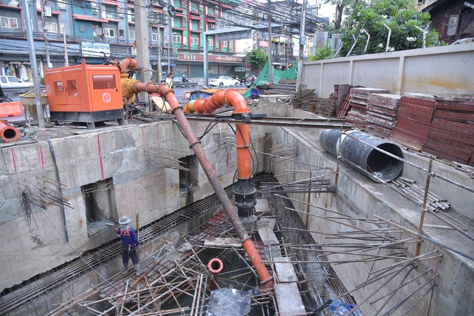 กทม. ติดตามระบบ Water Bank เร่งเตรียมสร้างบ่อรับน้ำใต้ดิน แก้ปัญหาน้ำท่วมขัง