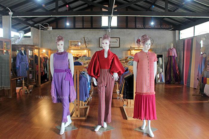 ศูนย์เรียนรู้และออกแบบขวัญตา เน้นการนำผ้าไทยไปดีไซน์ให้ทันสมัย