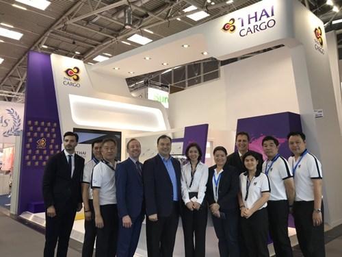 คาร์โก้การบินไทยร่วมจัดบูธในงาน Air Cargo Europe 2019