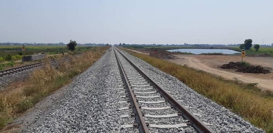เสร็จก.ย.นี้! รถไฟทางคู่ ช่วงฉะเชิงเทรา-คลองสิบเก้า-แก่งคอย