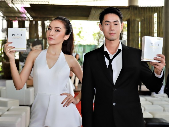 """Thai One Mall ในเครือ ไทยเจียระไนกรุ๊ป  เปิดตัว แผ่นมาร์คหน้า """"POYD"""" รุกตลาดความงาม"""