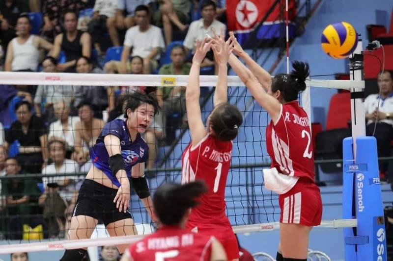 ลูกยางสาว U23 ประเดิมพ่าย โสมแดง 1-3 ศึกชิงแชมป์เอเชีย