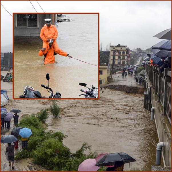 In Pics&Clip: ฝนหน้ามรสุมเป็นเหตุแค่ 2 วันมีผู้เสียชีวิตไม่ต่ำกว่า 40 ในทวีปเอเชียใต้