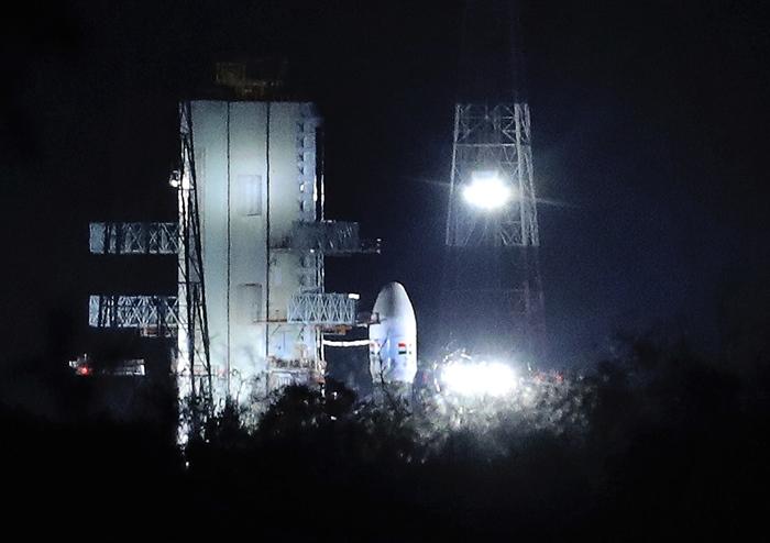 เลื่อนฝันเป็นปท.ที่4ส่งยานลงดวงจันทร์  อินเดียชะลอส่ง'จันทรายาน-2'หลังพบปัญหาเทคนิค