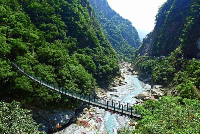 อุทยานแห่งชาติทาโรโกะ สถานที่ท่องเที่ยวชื่อดังของเมืองฮวาเหลียน