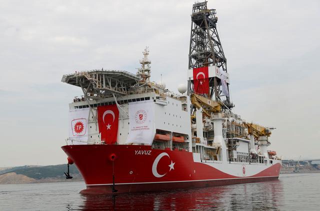 ตุรกีเดินหน้าขุดเจาะพลังงานนอกฝั่งไซปรัส ชี้อียูระงับเงินทุนไม่มีผลกระทบ