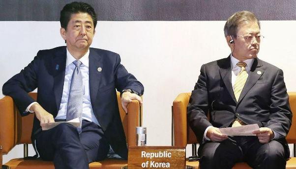 เปิดห้องเจรจาญี่ปุ่น-เกาหลีใต้ บรรยากาศดั่งไฟสุม