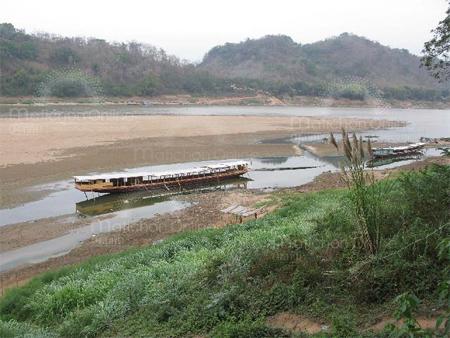 แม่น้ำโขง เหือดแห้งเร็วกว่าทุกปี
