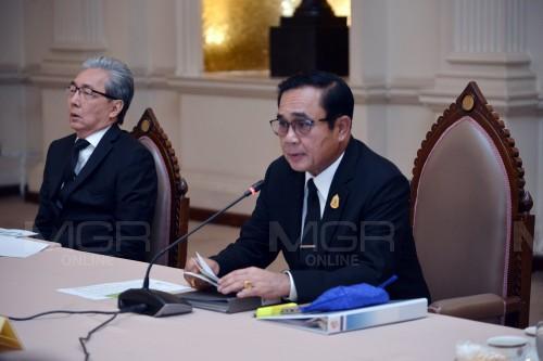 พล.อ.ประยุทธ์ จันทร์โอชา นายกรัฐมนตรีและรมว.กลาโหม (แฟ้มภาพ)