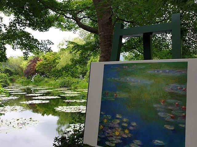 สวนโมเน่ต์ Kitagawa village Monets Garden Marmottan