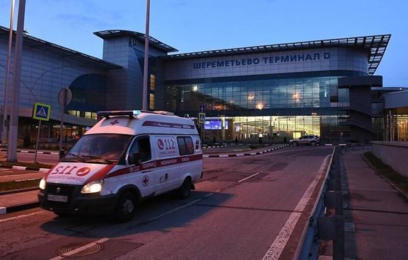 ผดส.บาดเจ็บ 8 หลังถูกอพยพออกจากเครื่องบินรัสเซียกระทันหันที่สนามบินมอสโก