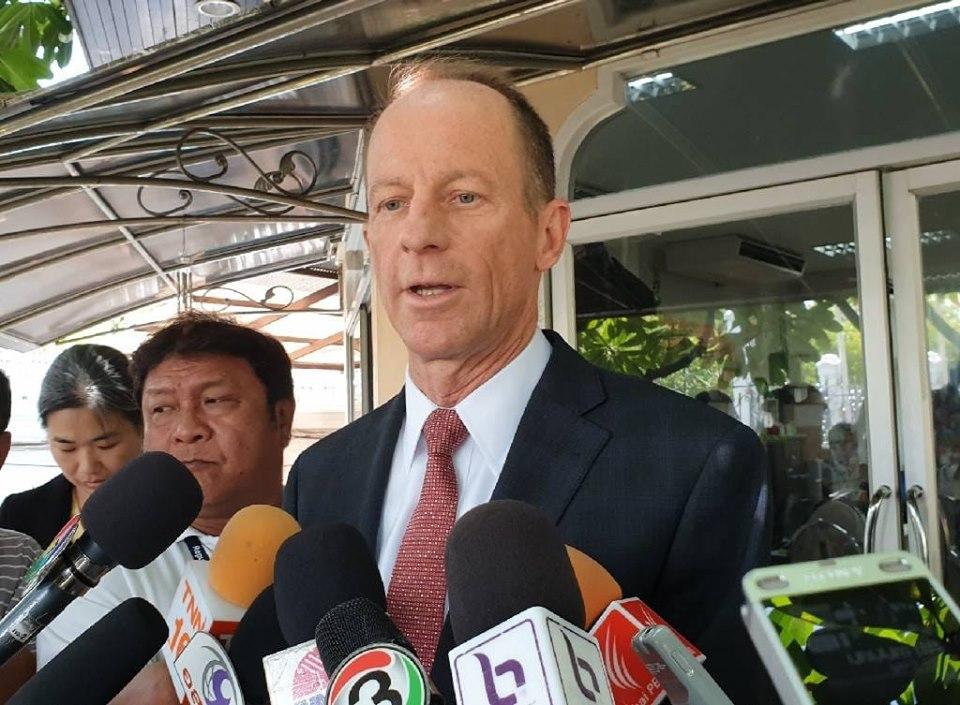 ผู้ช่วย รมต.ต่างประเทศสหรัฐฯ พบเลขานายกฯ ดีใจไทยมีรัฐบาลเลือกตั้ง