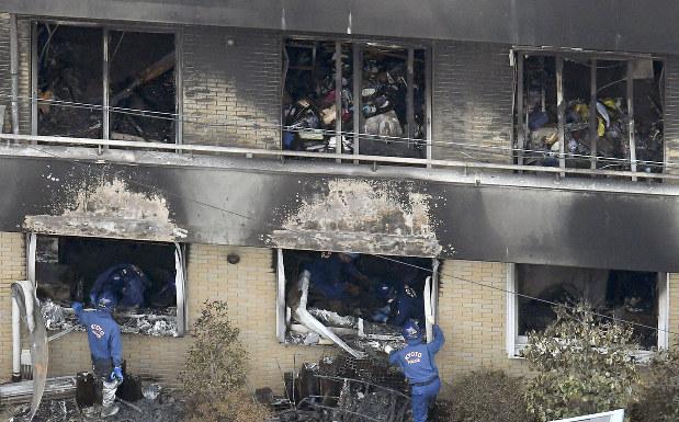คนร้ายที่วางเพลิงอ้างก่อเหตุเพราะถูกสตูดิโอแอนิเมชันขโมยผลงาน