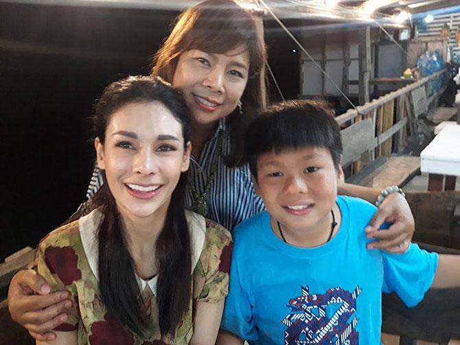 ครอบครัวของโกโก้ คุณแม่และน้องชายสุดที่รัก