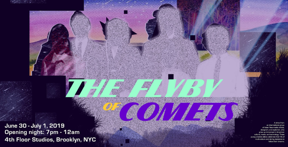 """""""ฝัน-ค้น-สร้าง"""" The Flyby of Comets ศิลปะสมัยใหม่ จากคนไทยในนิวยอร์ก"""