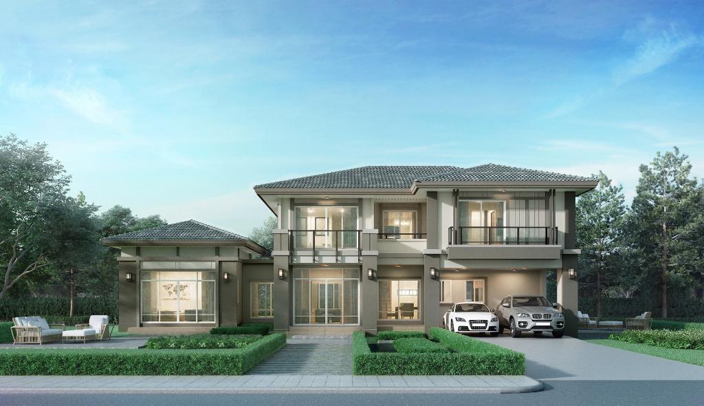 พฤกษา เปิด ภัสสร รามคำแหง-ราษฎร์พัฒนา บ้านเดี่ยวใกล้รถไฟฟ้า พร้อมเทคโนโลยี Pruksa Living Tech