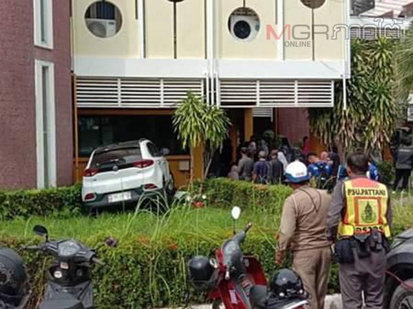 สลด! อุบัติเหตุรถชนคนเดินเท้าใน ม.อ.ปัตตานี เจ็บ 3 หนูน้อย 5 ขวบเจ็บสาหัสก่อนสิ้นใจ