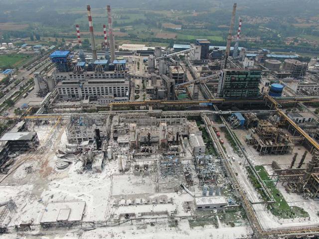 เสียชีวิตเพิ่มเป็น 15 ราย โรงก๊าซระเบิด ในมณฑลเหอหนาน