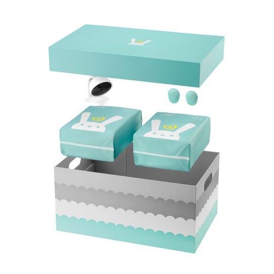 หลักการทำงานของผ้าอ้อมอัจฉริยะ คือการติดเซ็นเซอร์ตรวจตรากิจกรรมไว้ที่ด้านล่างของผ้าอ้อมทุกชิ้น เซ็นเซอร์แต่ละชิ้นมีอายุการใช้งานแบตเตอรี่ประมาณ 3 เดือน ซึ่งผู้ผลิตแนะนำให้ใช้เซ็นเซอร์สำหรับทารกแรกเกิดถึง 12 เดือน