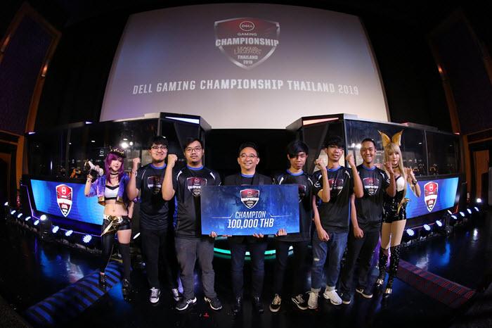 """ทีม SMALL คว้าแชมป์ """"League of Legends"""" ณ โรงภาพยนตร์ Dell Gaming Esports"""