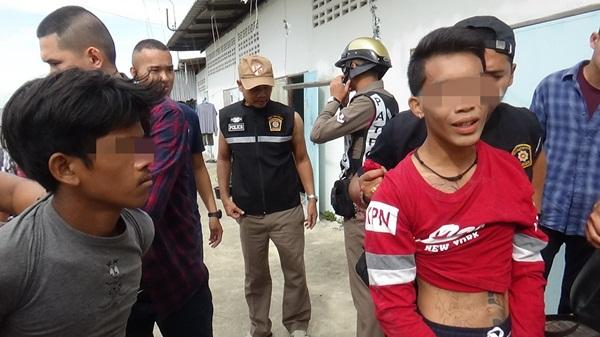 วุ่นกันทั้งเมือง 2หนุ่ม ไทย – กัมพูชา เสพยาบ้าหลอนชักมีดโชว์ตำรวจ