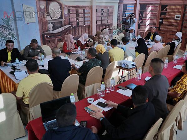 คณะกรรมการคุ้มครองสิทธิมนุษยชนฯ ประชุมหารือเพื่อแก้ปัญหาการละเมิดสิทธิ์ในชายแดนใต้