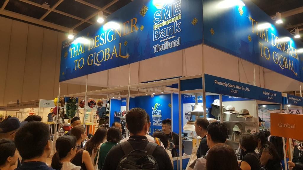 SME D Bank จับมือ HKTDC ติดปีกแฟชั่นไทยแจ้งเกิดเวทีโลก