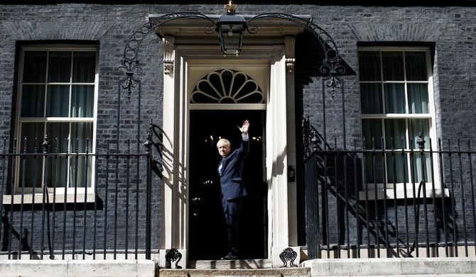 'บอริส จอห์นสัน'นั่งเก้าอี้นายกฯอังกฤษอย่างเป็นทางการ กร้าววันที่31ต.ค.ถอนตัวจากEUแน่นอน