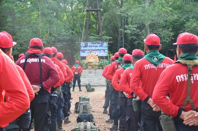 """กรมอุทยานวางข้ามปี ป้องกันไฟป่า เผยป้องกัน ดีกว่าไล่จับ"""""""
