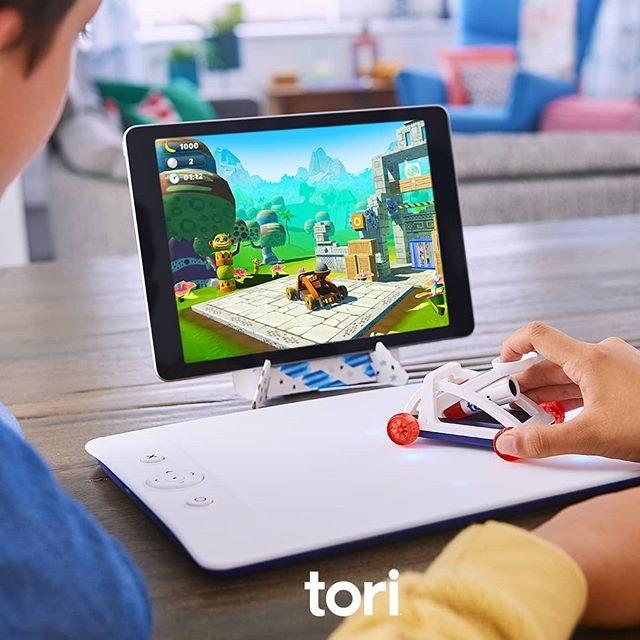 """เปิดตัว """"Tori"""" ของเล่นผสมเกมจากบันไดนัมโค"""