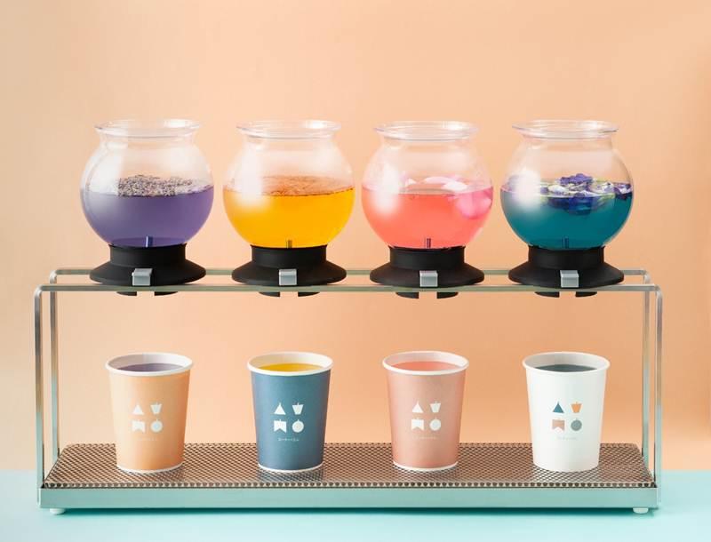 Flower Tea Collection จากร้าน ATM Tea Bar