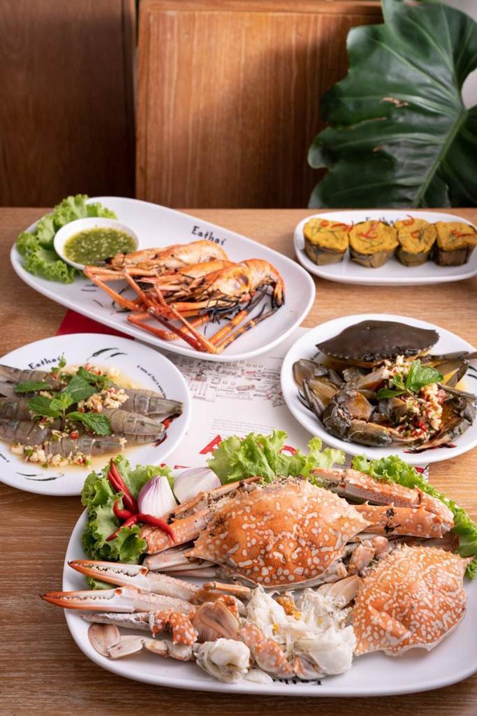 เมนูจาก Eathai Fresh from the Sea