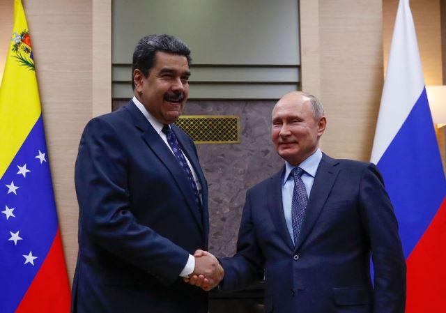 สหรัฐฯ จ่อคว่ำบาตรรัสเซียรอบใหม่ เหตุหนุนหลังผู้นำเวเนซูเอลา