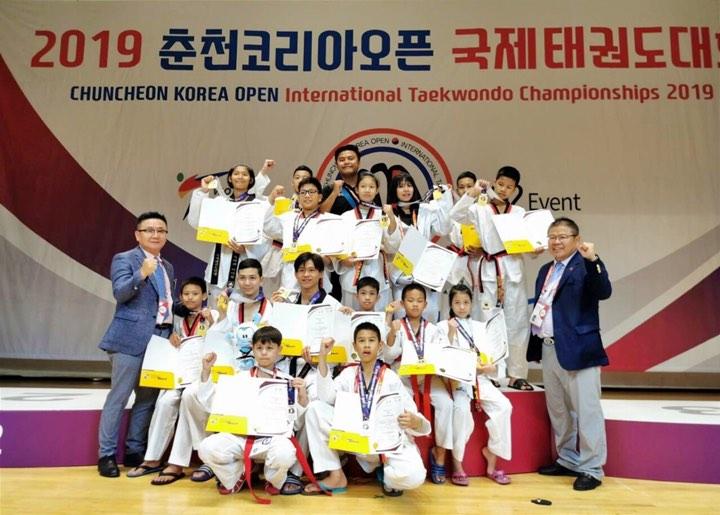 ซีพีเอฟ ร่วมภูมิใจและยินดีเทควันโดเยาวชนไทยคว้าเหรียญทองเกาหลีใต้