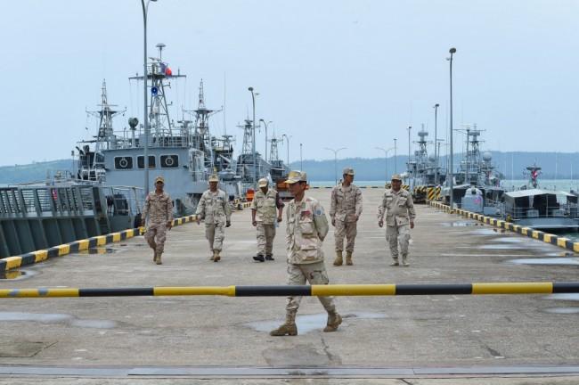 กัมพูชาจัดทริปพิเศษพานักข่าวชมฐานทัพเรือเรียมโต้ข่าวเปิดให้จีนใช้งาน