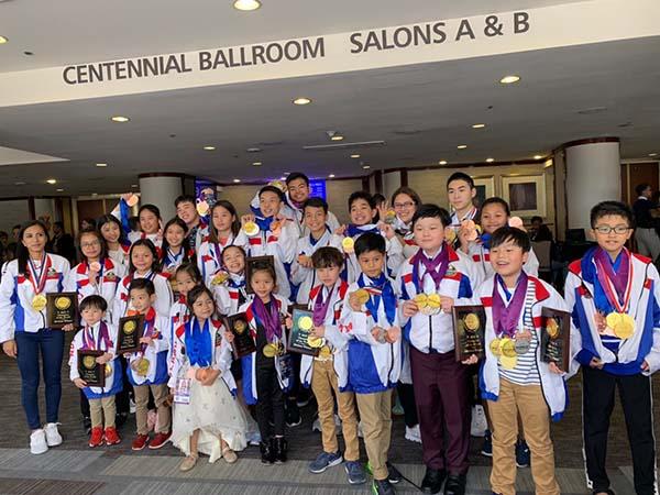 """""""เด็กไทย"""" สุดเจ๋งสร้างชื่อบนเวทีโลก คว้า 187 เหรียญ การแข่งขัน """"WCOPA"""""""
