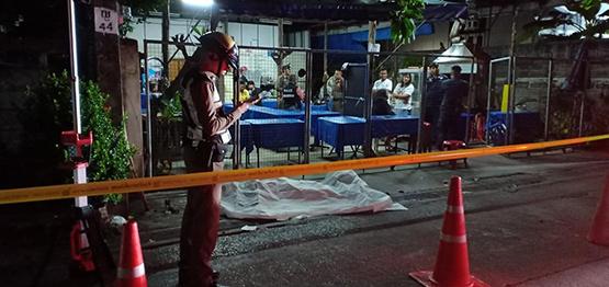 กลุ่มคนร้ายฆ่าปาดคอหนุ่มนักศึกษาเทคโนฯ เสียชีวิตคาซอยวงศ์สว่าง11