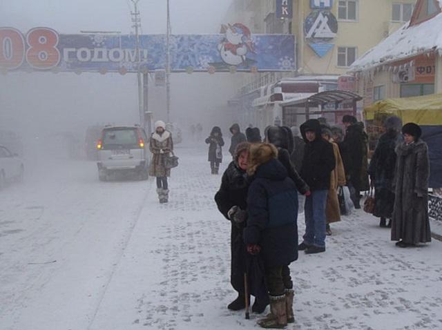 เครดิตภาพ The Independent เมืองที่หนาวที่สุดในโลก อุณหภูมิต่ำกว่า -40 องศาเซนเซียส เป็นเรื่องปรกติ