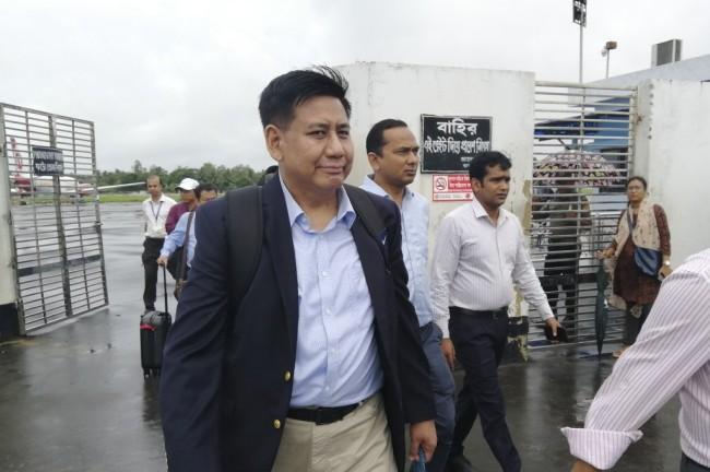 คณะผู้แทนพม่าหารือแกนนำชาวโรฮิงญาถึงค่ายผู้ลี้ภัยบังกลาเทศ