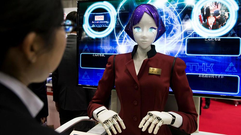 หุ่นยนต์ช่วยชาวต่างชาติ