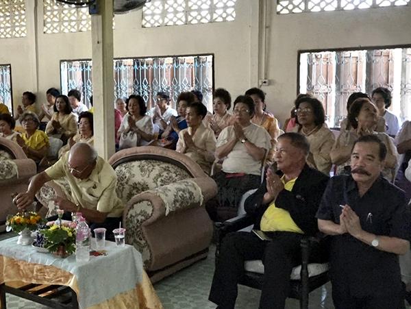 ศอ.บต.ร่วมทอดผ้าป่าวัดบ้านลุ่ม ยอดรวม 759,159 บาท สร้างหลังคาอุโบสถ