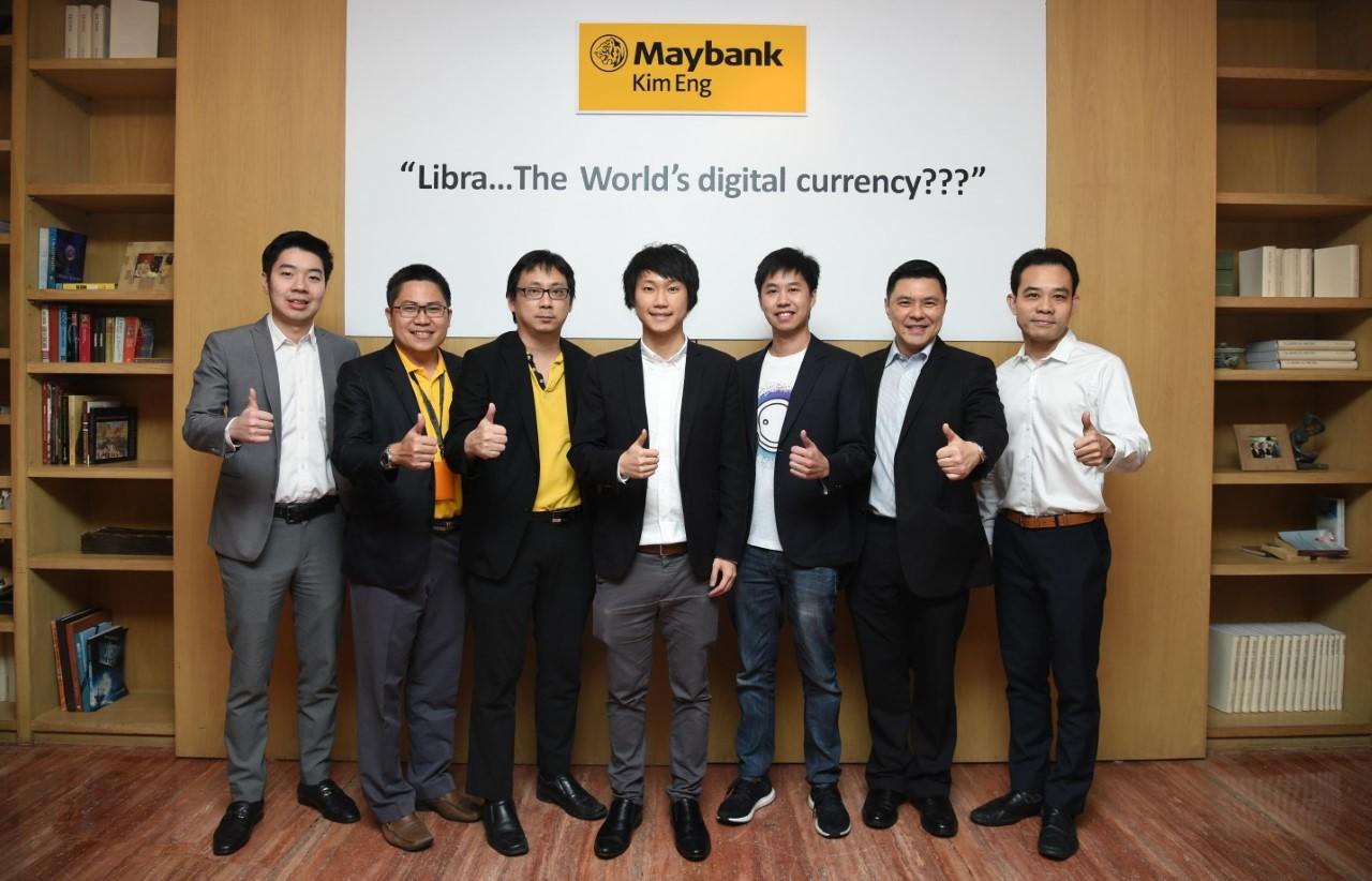 เมย์แบงก์ กิมเอ็ง จัดบรรยาย LIBRA THE WORLD'S DIGITAL CURRENCY?