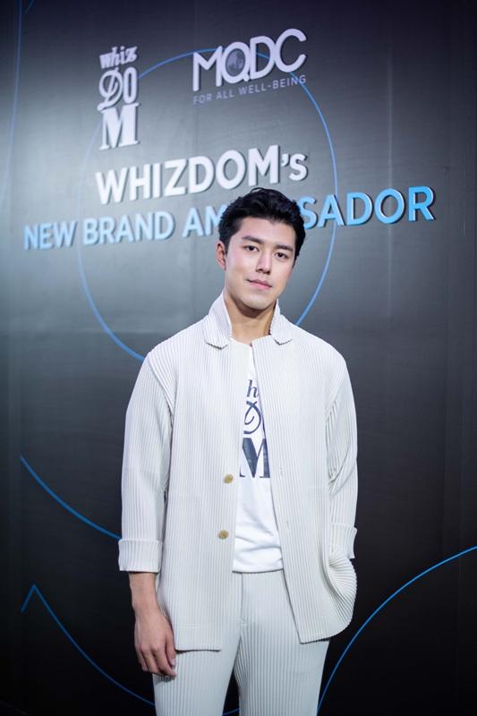 Whizdom Brand Ambassador คนล่าสุด นาย ณภัทร เสียงสมบุญ