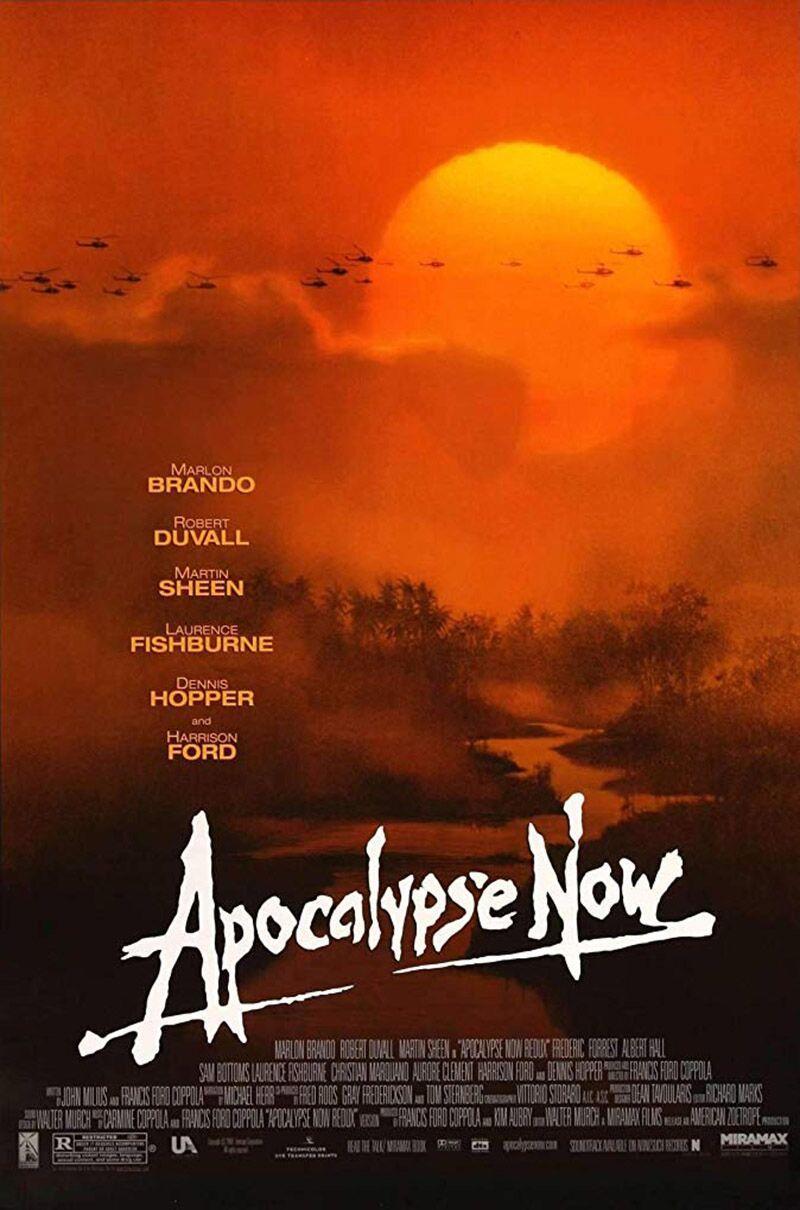 โปสเตอร์หนังเรื่อง Apocalypse Now ออกฉายปี 1979