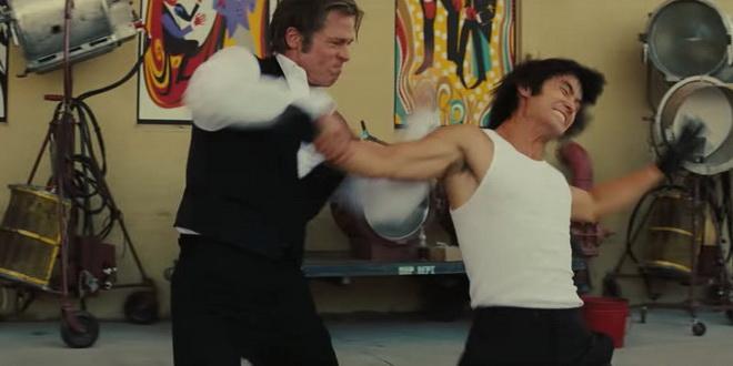 """""""บรูซ ลี"""" กลายเป็นตัวตลก และเป็นแค่กระสอบทรายของ """"แบรด พิตต์"""" ใน Once Upon a Time in Hollywood"""